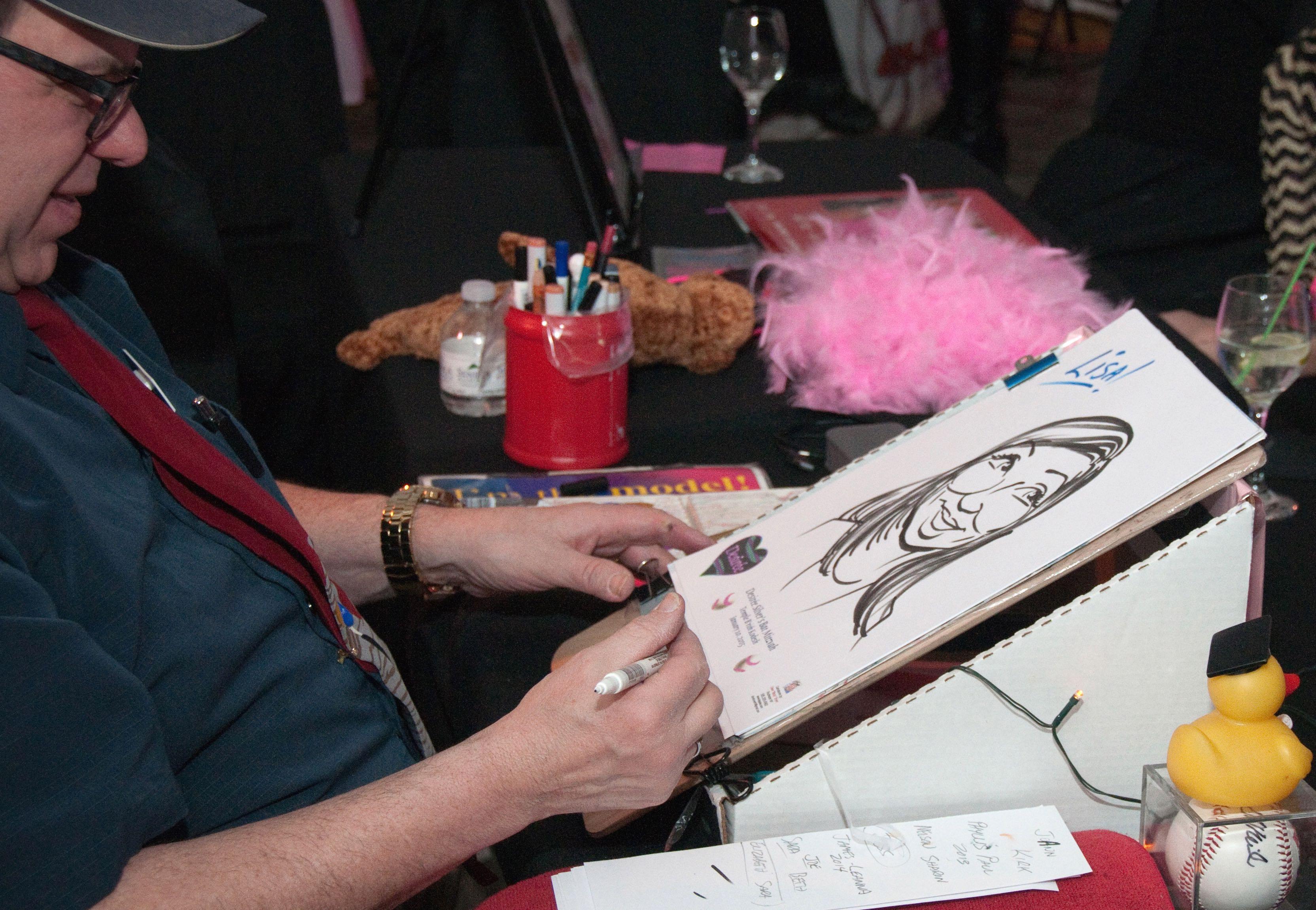 Caricature Artist Dave Boyer