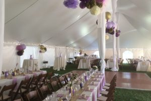 venue tented wedding
