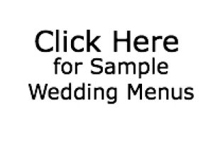 wedding menu wedding catering caterer rochester ny